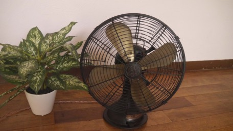 アトピッコハウスの必須アイテムその2・扇風機
