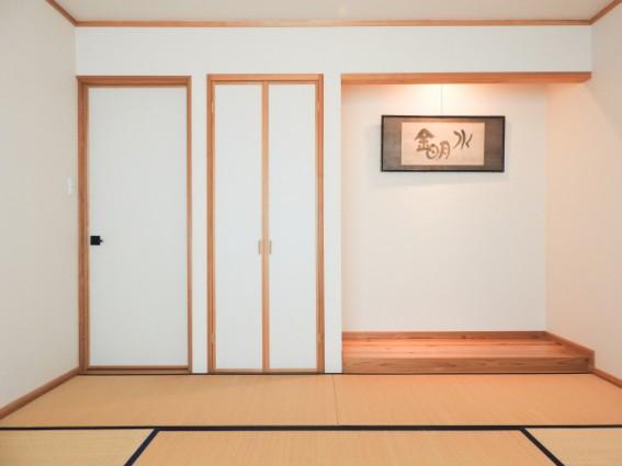 畳の部屋はあらゆるシーンに柔軟に使える