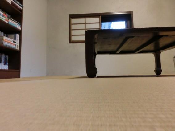 和室でランチタイム