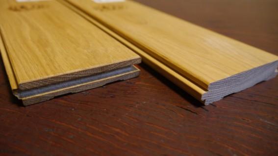 無垢フローリングは木から切りだされています
