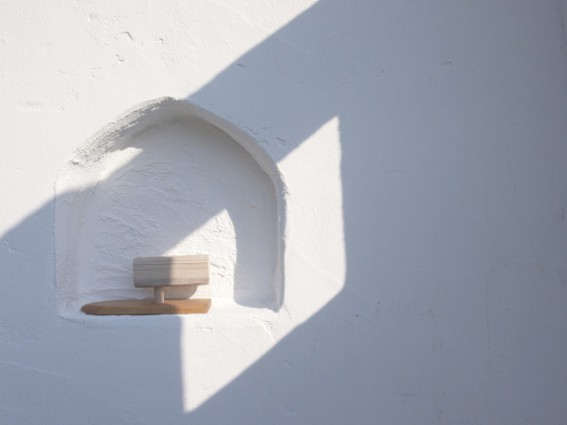 アトピッコハウスの塗り壁は品質が高く、経年変化も美しい