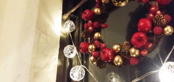 はいから小町とクリスマスリース