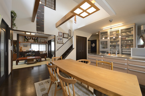戸塚邸キッチン
