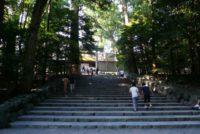 3年前に訪れた際の伊勢神宮
