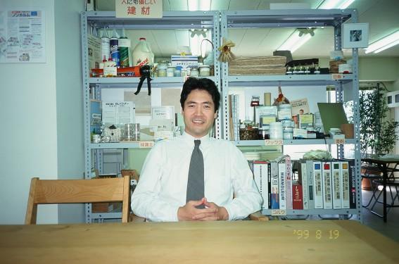 1999.8.19横浜事務所にて