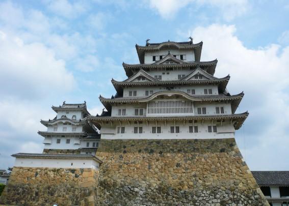 改修前の姫路城