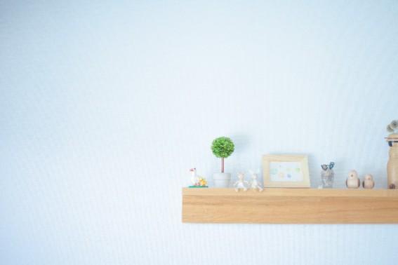壁がキレイだと、部屋全体がキレイに見えます