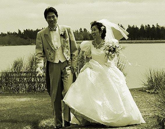 カナダで、結婚式