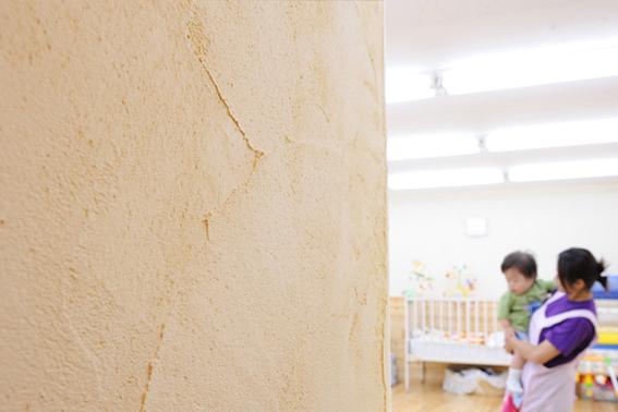 高性能な珪藻土塗り壁