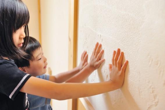 ボロボロしない塗り壁が、お勧め