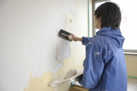 塗り壁の内装