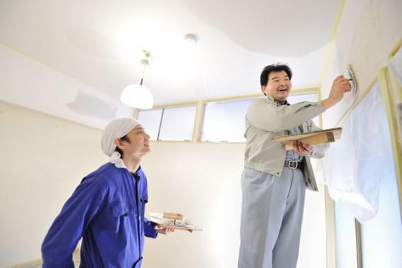 塗り壁のメンテナンス