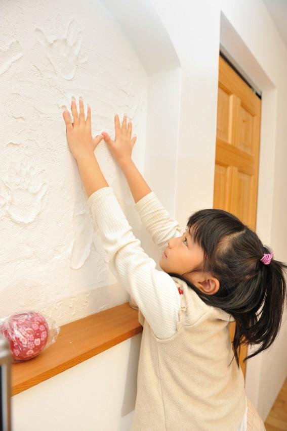 珪藻土塗り壁「はいから小町」施工事例